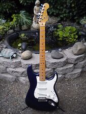 FENDER 1989 USA STRATOCASTER MAPLE NECK GUN METAL BLUE / PURPLE