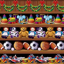 Decoración Fiesta Navidad de Santa workshor Estanterías Juguetes Telón de fondo