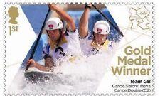 UK Team GB Gold Medal Winner Single Stamp - Tim & Etienne MNH 2012