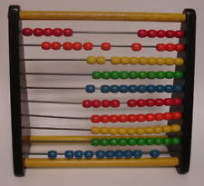 Vintage Holgate Colored Bead Counting Frame - Abacus