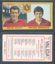 FIGURINA CALCIATORI PANINI 1969/70-TORINO,BOLCHI/MONDONICO-NUOVA,PERFETTA,SUPER!