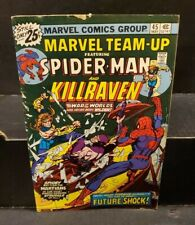 Marvel Team-Up Comic Book #45 Spider-Man and Killraven 1976 FINE+