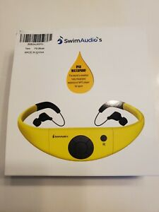 SwimAudio's IPX8 waterproof headphones For swimming with MP3 Player for Sport