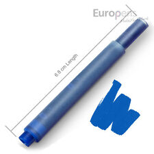 Lamy Compatible Fountain Ink Cartridges Blue x 30