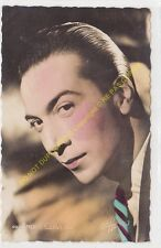 RPPC STAR ANDRE CLAVEAU Photo STUDIO HARCOURT Edit SERP 49