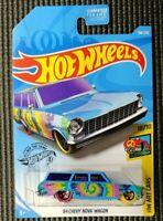 Hot Wheels Art Cars 1964 Chevy Nova Wagon - Blue
