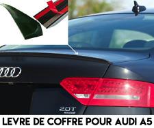 LAME DE COFFRE ADHESIVE SPOILER MALLE HAYON pour AUDI A5 2007-11 COUPE CABRIOLET
