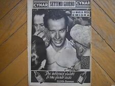 HUGO KOBLET VINCE GIRO D'ITALIA CYCLING 1950 SETTIMO DAY IN COVER