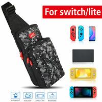 Men Shoulder Bag Travel Carrying Case Storage Backpack for Nintendo Switch/ Lite