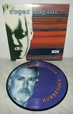 "7"" 45 GIRI ROGER TAYLOR - SURRENDER - PICTURE DISC"