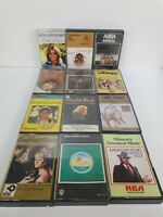 Vintage Retro 70's Music Cassettes Tapes Bundle x 12 ABBA Supremes Streisand