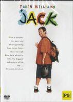 Jack  ( Robin Williams )  - New Region All ( PAL )