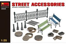 Miniart 35530 1/35 Street Accessories