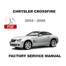 CHRYSLER CROSSFIRE FACTORY SRT6 AMG 3.2L SUPERCHARGED SERVICE REPAIR FSM MANUAL