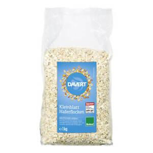 Davert - Kleinblatt Haferflocken Bioland - 1 kg