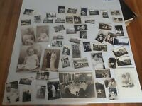 Vintage Bulk Lot of Early Australian Family Portraits early- Mid 1900s  B1)