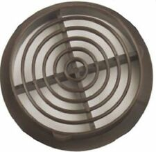 PACK OF 50 - BROWN SOFFIT DISC PUSH IN FIT VENTS 100MM 4 INCH