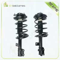 Front Rear Gas Struts Shock Absorbers Compatible Fit for 2000 2001 2002 2003 2004 2005 2006 BMW X5 335924 72339 335925 72340 555610 39051 Set of 4 SCITOO Shocks