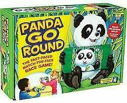 Educational Insights - PANDA GO ROUND Match The Face Race Game, Ages 4+