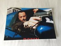 Jean Reno AUTOGRAPHED IN PERSON 4x6 Photo w/COA EXTREMELY RARE
