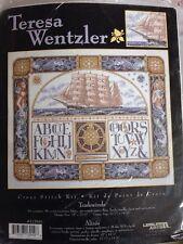 TradewindsTeresa Wentzler Counted Cross Stitch Kit, Beads Leisure Arts 113949