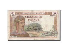 Billets, 50 Francs Cérès type 1933 Modifié #306658