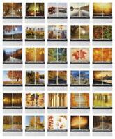 "Fall Kitchen Curtains 2 Panel Set Window Drapes 55"" X 39"" Ambesonne"