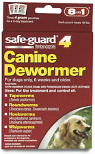 8 In 1 Safe Guard Canine Dewormer For Large Dogs 6 Week And Older - 4 g