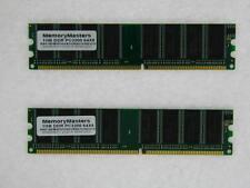 2GB=2x1GB PC3200 MEMORY DDR DESKTOP RAM DELL Optiplex SX260 SX270 GX260 GX270