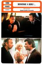 BIENVENUE A BORD ! - Richard,Bouix,Frot (Fiche Cinéma) 1990 - Welcome Aboard !