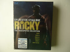 Rocky: The Undisputed Collection (Blu-ray Disc, 2009, 7-Disc Set) NEW
