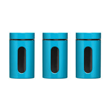 Premier Housewares Storage Canisters, Jars, Set of 3, Brand New