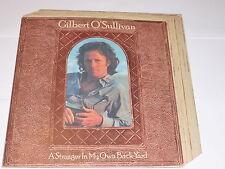 GILBERT O'SULLIVAN - A Stranger In My Own Back Yard - 1974 UK 15-track vinyl LP
