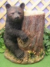 Black Grizzly Bear Planter Urn Latex Fiberglass Production Mold Concrete Plaster