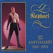 RAPHAEL - 30 Anniversario - 2 CD - RARE - Free Shipping