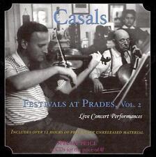 Casals Festivals at Prades - Vol. 2 [12cd Box Set] CD NEW