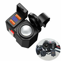 Motorcycle Phone GPS QC3.0 Quick Charger Power Socket Charger+Voltmeter+Switch