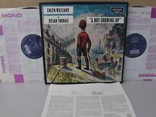 ARGO TA 509-10 DYLAN THOMAS A Boy Growing Up 2-LP Audiobook Emlyn Williams Poems