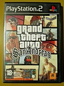 GTA San Andreas - PS2 Playstation2 - Rockstar PAL ITA - LEGGERE DESCRIZIONE!!!