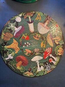 Springbok Circular Puzzle, 1968 The Mushroom Puzzle, Complete