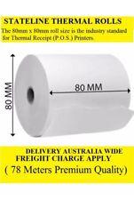 50 . 80mmx80mm Thermal Receipt Rolls ( 78 Meters Premium Quality)