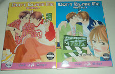 YAOI Don't Blame Me Vol. 1-2 by Yugi Yamada Manga Graphic Novel English