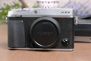 Fujifilm X-E3 24.3 MP Mirrorless Camera - Black (Body Only) with Charger