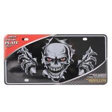3D License Plate Bone Skull License Plate Frame fits Chevrolet by Pilot