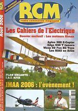 RCM  N°304 PLAN : I.A.I KFIR / APLUS 300 E-COPTER / EDGE 540 T JAMARA / HIMAX