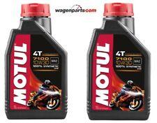 Aceite Motos 4T Motul 7100 10W30, pack 2 litros