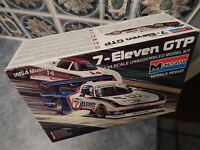 New Monogram Car Model Kit: 7-Eleven GTP Ford Mustang 1/24 Scale: Box Open #2709