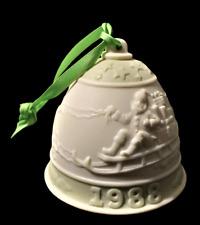 Lladro Christmas Ornament: 1988 Porcelain Bell