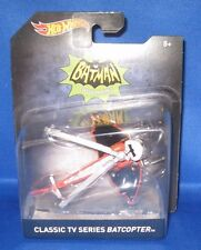 DC UNIVERSE COMICS COLLECTOR  HOT WHEELS BATMAN CLASSIC TV SERIES BATCOPTER NEW