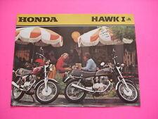 OEM 1979 Honda CB400T1 CB400 Hawk Sales Brochure CB 400 Literature Sheet 79